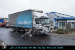 Kamyon tenteli platform Scania P270 Pritsche+Plane Klimaanlage Euro 4 L9,60m