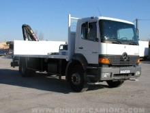 Camion Mercedes Atego 1828 plateau standard occasion