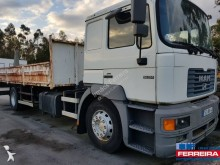 Camion plateau ridelles occasion MAN 19.314