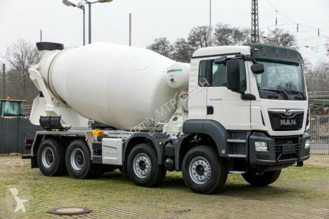 Voir les photos Camion MAN 41.400 8x4 / Euromix Beton Mischer 10m³ / EURO 3