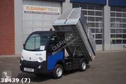 Goupil waste collection truck Mega E-Worker 100 % elektrisch met Veegvuil kipper