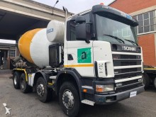 Scania R124 470 truck used concrete mixer