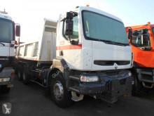 Used two-way side tipper truck Renault Kerax 340