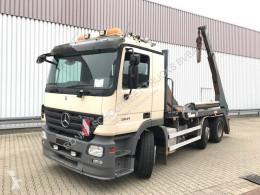 Kamión vozidlo s hákovým nosičom kontajnerov Mercedes Actros 2541 L 6x2/4 2541 L 6x2/4 mit Vorlauflenk-/Liftachse