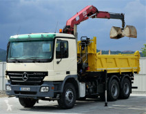 Camion plateau Mercedes Actros 2632 Bordmatic 4,90m+Kran*Topzustand*!
