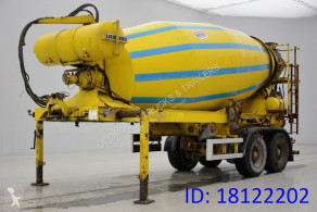Müller-Mitteltal Mixer 12 M³ semi-trailer used concrete mixer concrete