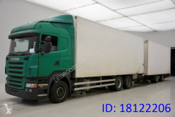 Scania R 420 trailer truck used box