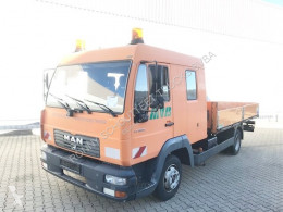 MAN LE 8.185 LC Doka 4x2 BB 8.185 LC Doka 4x2 BB, 2x AHK truck used flatbed