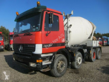 lastbil Mercedes Actros 3235 8x4 L&T 9m3 Steel suspension