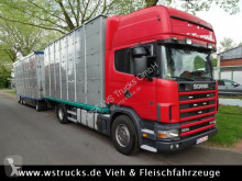 Camion Scania 164/580 Topline 2 Stock V8 van à chevaux occasion