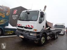 Camión portacontenedores usado Renault Kerax 340