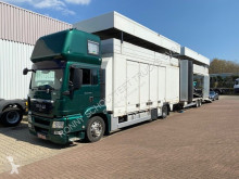 Ciężarówka z przyczepą MAN TGS 18.440 4x2 LL, Nur Komplett als Zug 18.440 4x2 LL, Intarder, Nur Komplett als Zug do transportu samochodów używana