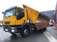 Iveco two-way side tipper truck Trakker 410