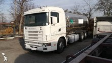 Scania L 124L420 truck used food tanker