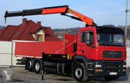 MAN TGA 26.350 Pritsche 7,50m+Kran/FUNK*Top Zustand! truck used flatbed