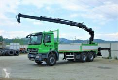 camion Mercedes Actros 2636 Pritsche 6,40m+KRAN/FUNK 6x4 !!!