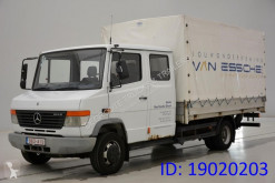 Kamión plachtový náves Mercedes Vario