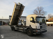 Camion Scania P114 porte containers occasion