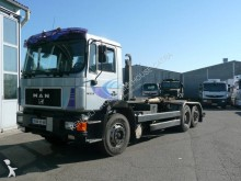 Used hook arm system truck MAN 26.321