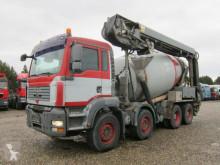 曼恩卡车 TGA 35.400 8x4 STETTER 9m3 + Theam 14m+4m