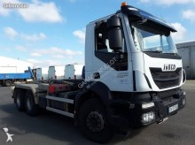 Camion polybenne occasion Iveco Trakker 260 T 41