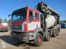 camion MAN TGA 35.400 8x4 STETTER 9 m3 + THEAM 14M+4M