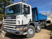Scania C 124C420 truck used two-way side tipper