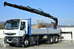 camion Renault Premium 320 DXI Pritsche 7,00m+Kran/FUNK