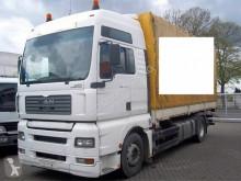 MAN LKW Pritsche und Plane 18.430 Plane Spriegel G-Haus German Truck