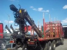 Camion grumier Holz/ Platou mit Rungen