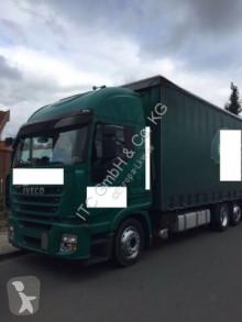 Camion cu prelata si obloane second-hand Iveco Stralis 450 Euro5 Jumbo Zug. m Hanger 120m3