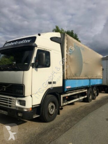 Camion cu prelata si obloane second-hand Volvo FH12-420 Euro:4Plane Spriegel mit LBW 3000kg