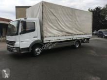 Camion savoyarde occasion Mercedes 816 Plane Spriegel German Truck