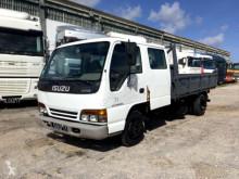 Isuzu three-way side tipper truck