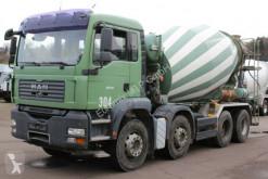 Камион бетон миксер втора употреба MAN TGA 32360 8X4 EURO 4 9m Trommel