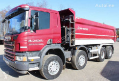 Scania P410 truck used tipper