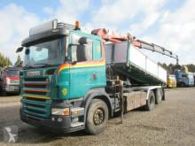 Scania R480 6x2*4 Tipper // Crane HMF 1820K4 truck