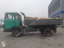 Deutz M130 4x2 truck used three-way side tipper