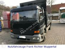 Camion platformă transport băuturi Mercedes 1223 Getränkeaufbau, Schwenkwandaufbau