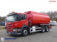 Scania tartálykocsi teherautó P 310