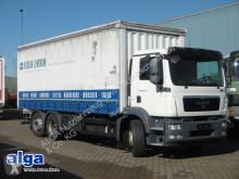 Vrachtwagen met huifzeil MAN 26.340 TGM 6x2, lang 7300mm, Klima, 16800 kg NL.
