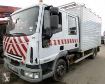 Camion plateau ridelles Iveco ML 100E18 DoKa 6-Sitzer DOPPEL KABINE