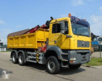 Camión MAN 26.360 6x6 HMF 1560 EURO 3 Kran Kipper caja abierta usado