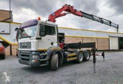Camião MAN TGA 26.390 6x4 HMF 4220 K4+2 Kran Cran estrado / caixa aberta usado