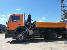 Camion Mercedes 1823 4x4 HIAB 065 Winterdienst Kran benne occasion