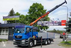 Camión MAN TGS 26.360 6x2 PALFINGER PK 11001 EURO 5 Kran caja abierta usado