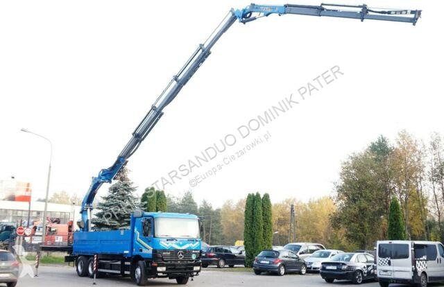 Voir les photos Camion Mercedes 2640 6x4 PALFINGER PK 35000 D FLY JIB Kran Cran