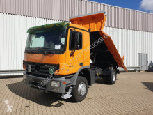 Mercedes three-way side tipper truck Actros 1846 AK 4x4 1846 AK 4x4 mit Bordmatik links