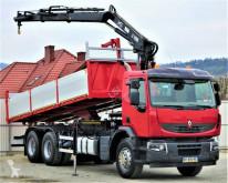 камион Renault Premium 370 Kipper 6,30m+Kran *6x4*Topzustand!
