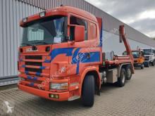 Kamión vozidlo s hákovým nosičom kontajnerov Scania R144 GB 460 6x2/4 NA R144 GB 460 6x2/4 NA, Retarder, Lift-/Lenkachse